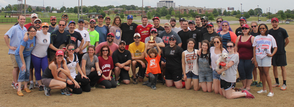 Faculty and Graduate Students After the Game