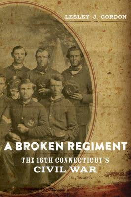 Book Cover for A Broken Regiment featuring an original photo of Union veterans.