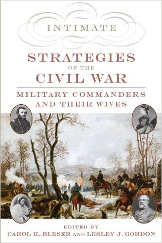 Cover for Intimate Strategies showing US Grant watching a winter battle.