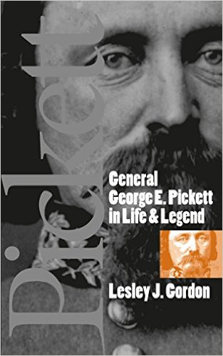 Cover for General George E. Pickett featuring a picture of Pickett.