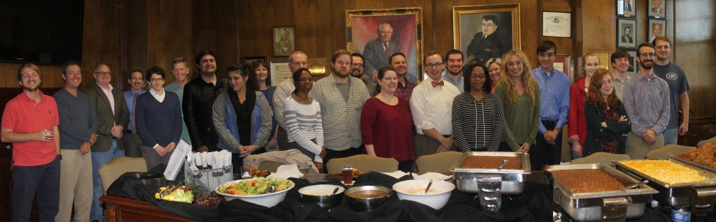 Students in the Public History Institute Enjoy a Luncheon