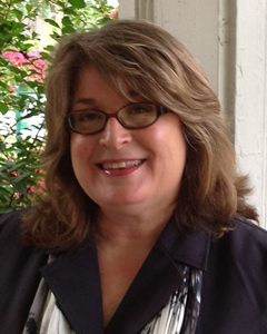 This image is a profile picture of Donna Cox Baker