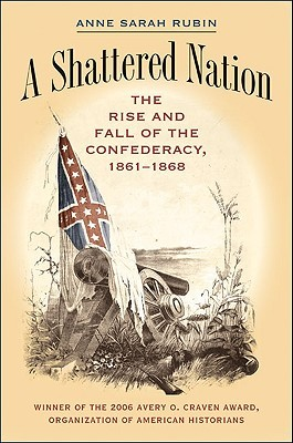 This image shows the book cover for A Shattered Nation