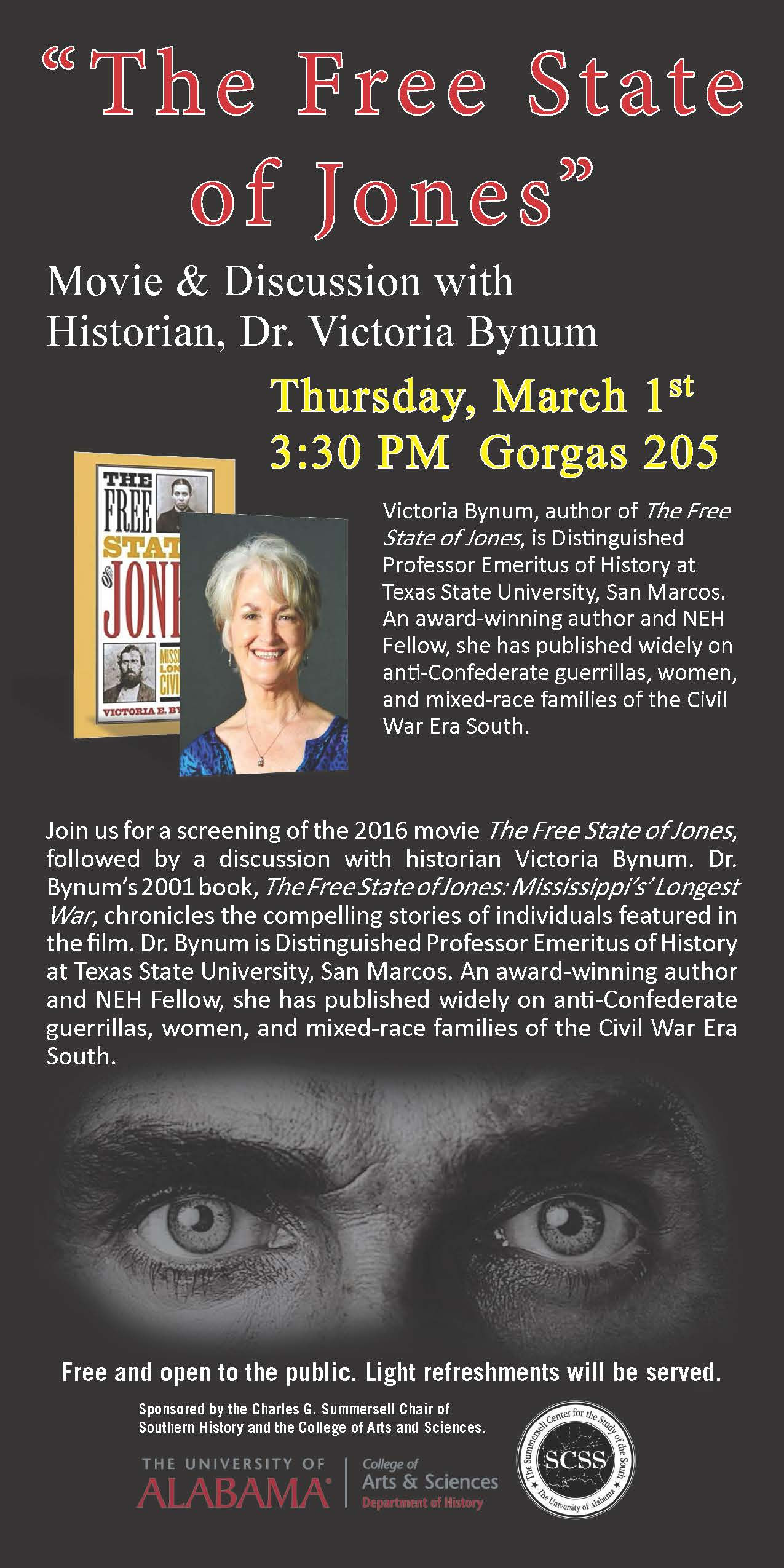 This image shows the event flyer for this screening.