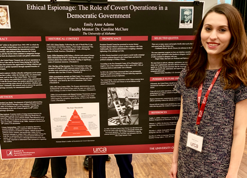 History Students Participate in and Win at URCA Conference ...