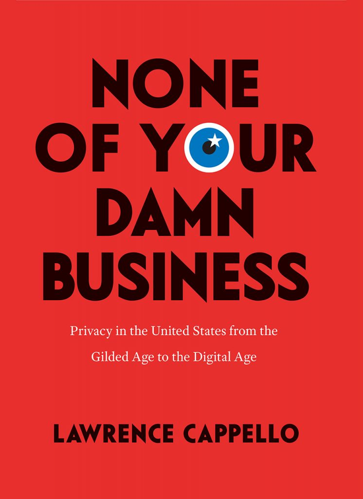 Dust jacket for Capello's None of Your Damn Business