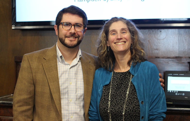 Photo of Hulbert and Lesley Gordon