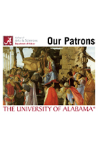 Patrons Logo featuring the Medici family