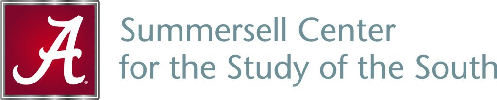 This image is the official UA nameplate for the Summersell Center for the Study of the South.