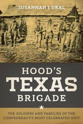 This is an image of the book cover for Hood's Texas Brigade